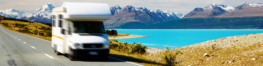 Location camping car en Nouvelle-Zélande